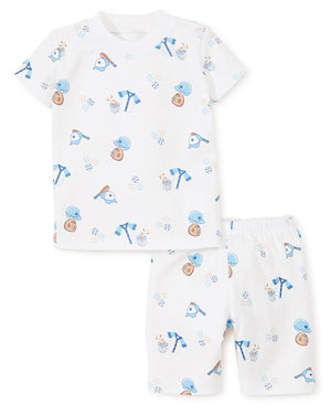 Baseball Short PJ Set