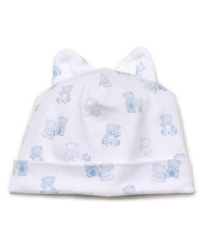 Bear-Y-Cute Hat, Blue