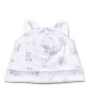 Bear-Y-Cute Hat, Silver