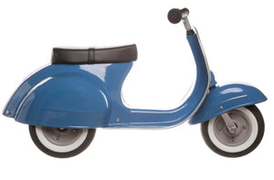 Primo Classic Ride-On Push Scooter, Blue
