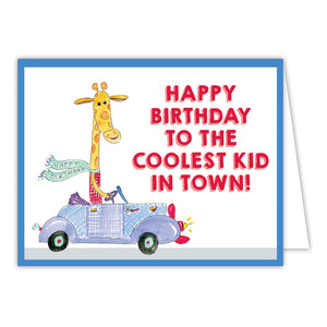 Card - Coolest Kid Birthday