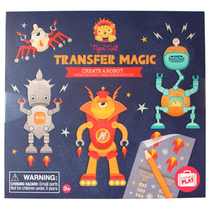 Create A Robot Transfer Magic