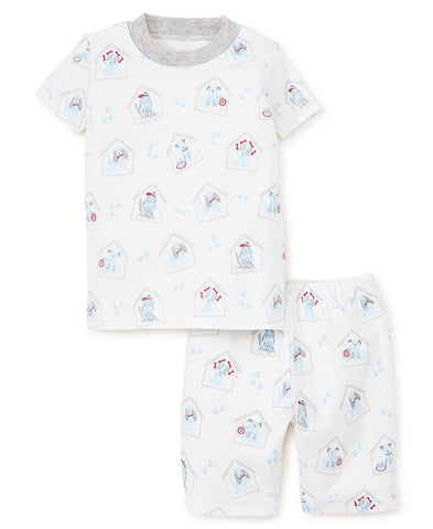 Puppy Print 2PC Short Set