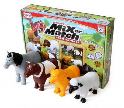 Magnetic Mix or Match Farm Animals
