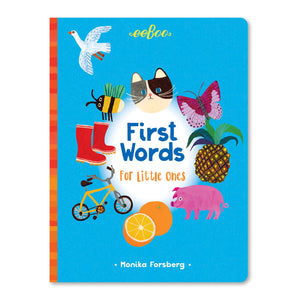 First Words For Little Ones Board Book