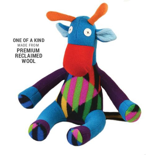 Wool Stuffed Animal - Giraffe