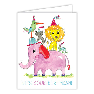 Card - Go Wild It's Your Birthday
