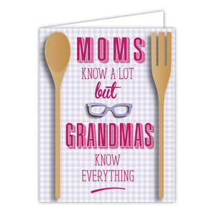 Card - Grandmas Know Everything