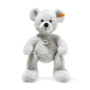 Fynn Grey Teddy Bear 16""