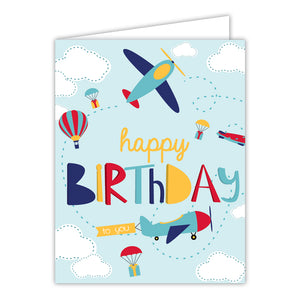 Card - Airplanes Birthday