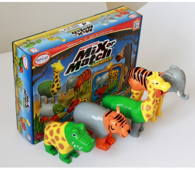 Magnetic Mix or Match Jungle Animals