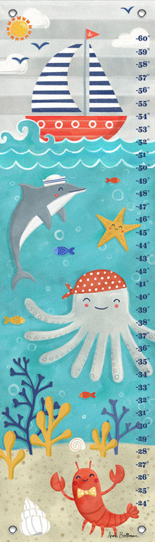 Let's Set Sail Growth Chart