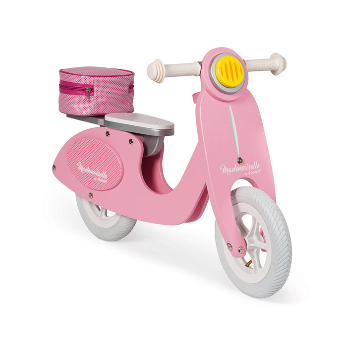 Mademoiselle Pink Scooter Balance Bike