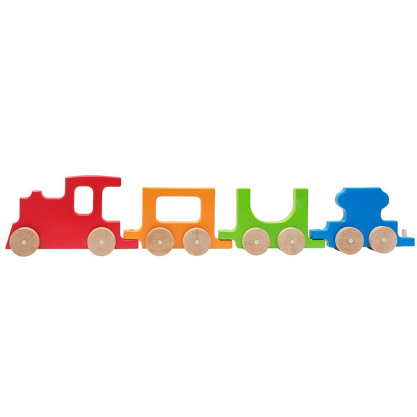 Push Toy - Train Set - Red