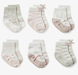 Maryjane Socks 6PK