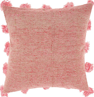 Throw Pillow Tassel - Rose
