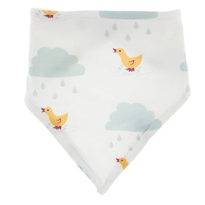 Bandana Bib, Natural Puddle Duck