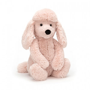 Bashful Blush Poodle Pup, Medium