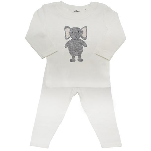 Ragdoll Elephant 2PC Set, Cream