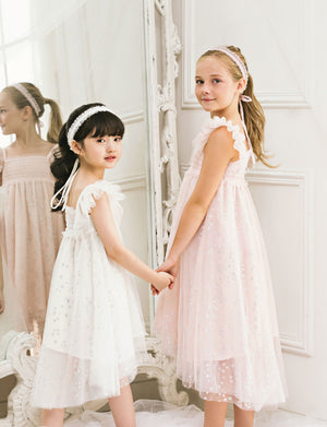 Stella Star Dress, Pink