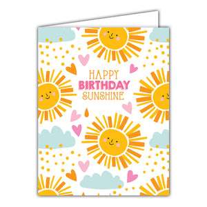 Card - Happy Birthday Sunshine