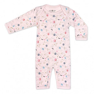 Moon Star Coverall, Pink