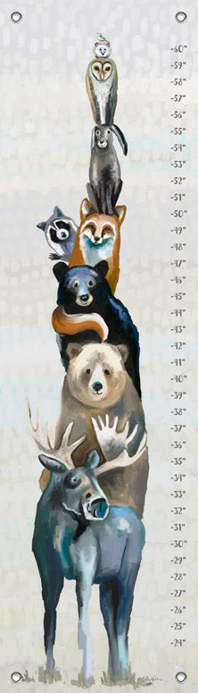 Woodland Buddies Growth Chart