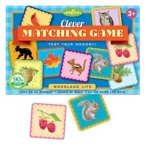 Woodland Life Matching Memory Game