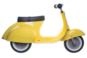 Primo Classic Ride-On Push Scooter, Yellow
