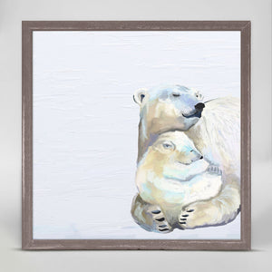Polar Bears Mini Print 6x6