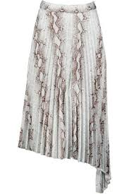 Bishop + Young Untamed Pleated Midi Skirt