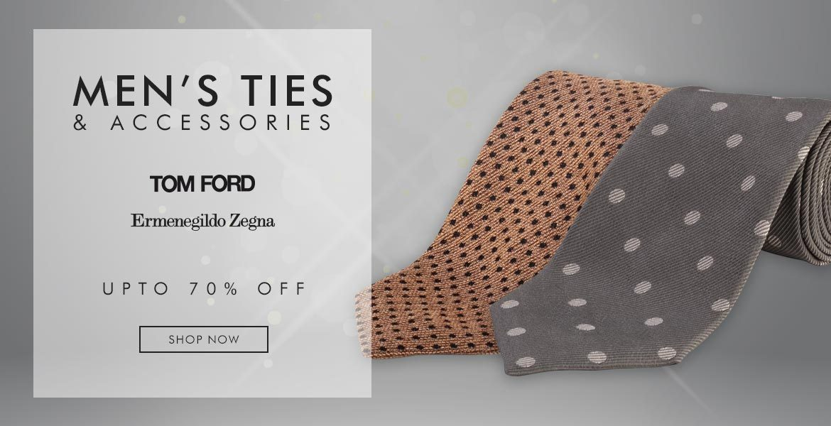 Men's Ties and Accessories - Tom Form and Zegna Ties