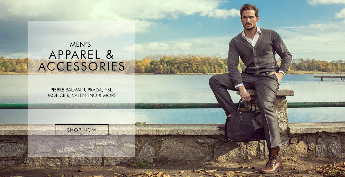 Men's Apparel and Accessories - Shop now