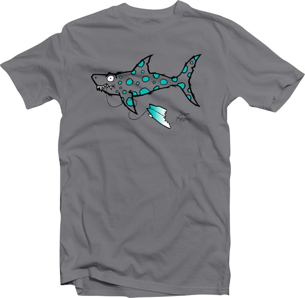Shark Bait! (Toddler & Kids) -Charcoal/Teal