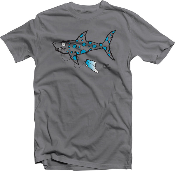 Shark Bait! (Toddler & Kids) -Charcoal/Blue
