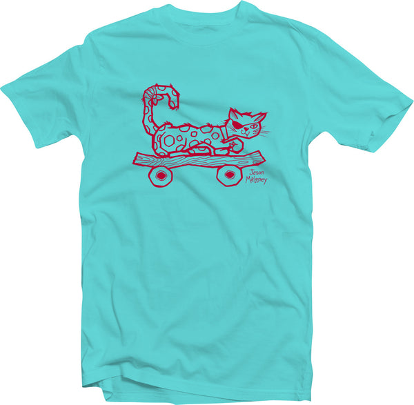 Cool Cat (Toddler & Kids) - Teal