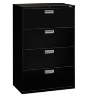 "HON COMPANY 600 Series Four-Drawer Lateral File 36""W"