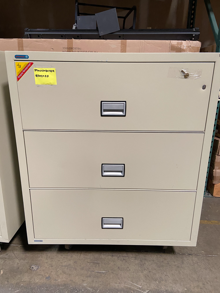 Phoenix Fireproof 3 Drawer Lateral - Pre Owned - 39242P