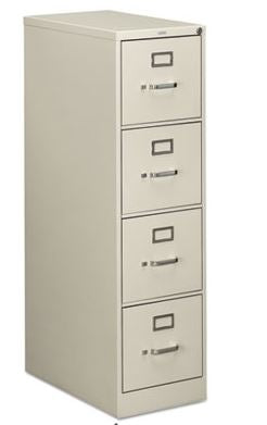 HON COMPANY 510 Series Four-Drawer Full-Suspension File