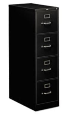 HON COMPANY 310 Series Four-Drawer Full-Suspension File