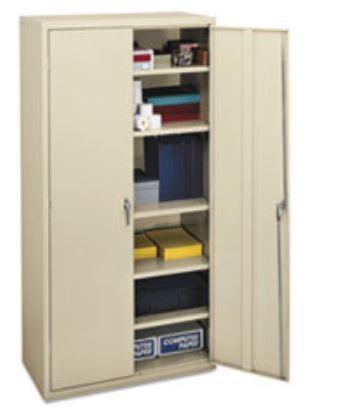 "HON COMPANY Assembled Storage Cabinet 72""H"
