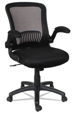 Alera EB-E Series Swivel/Tilt Mid-Back Mesh Chair-ALEEBE4217