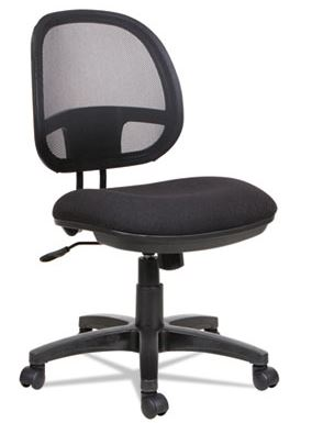 Alera Interval Series Swivel/Tilt Mesh Chair-ALEIN4814