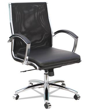 Alera Neratoli Mid-Back Slim Profile Chair-ALENR4218