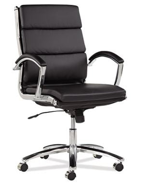 Alera Neratoli Mid-Back Slim Profile Chair-ALENR4219