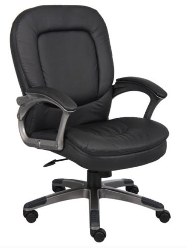 Boss Executive Pillow Top Mid Back Chair - B7106