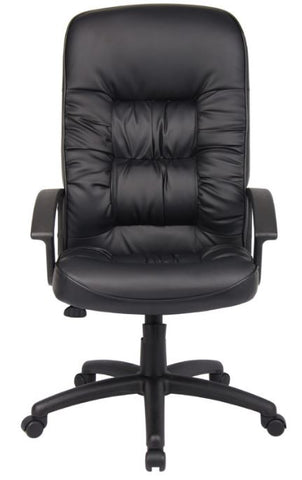 Boss High Back LeatherPlus Chair - B7301