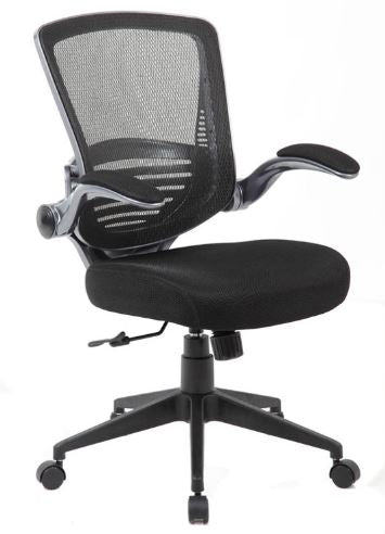 Boss Contemporary Mesh Task Chair - Model: B6356-BK