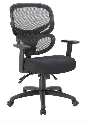 Boss Multi-Function Mesh Task Chair - Model: B6338