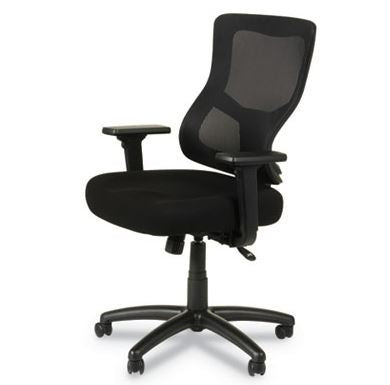 Alera Elusion II Series Mesh Mid-Back Synchro with Seat Slide Chair-ALEELT4214S